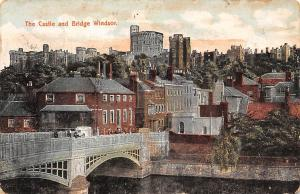 The Castle and Bridge Windsor River Pont