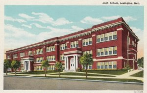 LEXINGTON, Nebraska, 1910-30s; High School