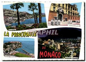 Modern Postcard The French Riviera the Principality of Monaco Monte Carlo
