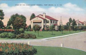Home of the Commanding General, Fort Bragg, North Carolina, PU-1941