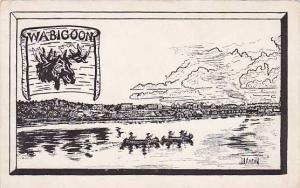 AS: J. Aaron, Boats, Wabigoon Lake, Ontario, Canada, 1930-1940s