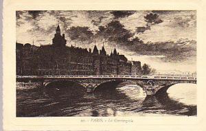France - Paris - La Conciergerie 1939  Edition d'Art YVON