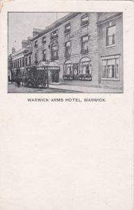 WARWICK, England, United Kingdom; 1900-10s; Warwick Arms Hotel