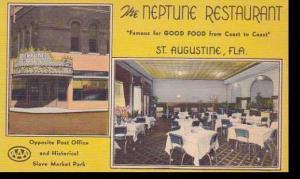 Florida St Augustine Neptune Restaurant