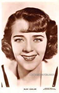 Ruby Keeler Movie Star Actor Actress Film Star Unused