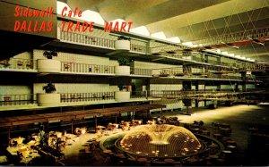 Texas Dallas Trade Mart Grand Courtyard Sidewalk Cafe Area