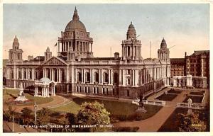Belfast Ireland City Hall and Garden of Remembrance Belfast City Hall and Gar...