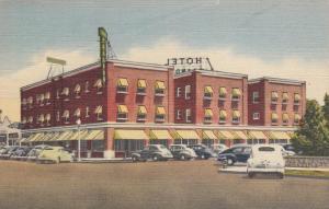 PECOS , Texas , 30-40s ; Hotel Brandon