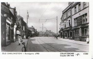 Co Durham Postcard - Bondgate c1905, Old Darlington - Pamlin Prints - Ref.U68