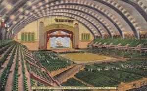 New Jersey Atlantic City Interior World's Largest Auditorium and Convention H...