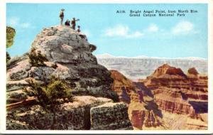 Arizona Grand Canyon Bright Angel Point From North Rim