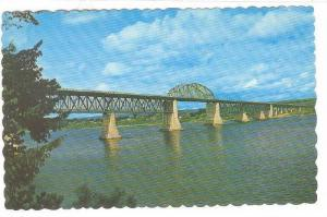 Princess Margoret Bridge, Fredericton, New Brunswick, Canada, 40-60s