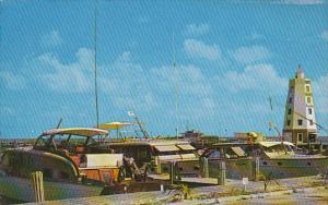 Florida Marathon Fishing Boats At Davis Docks In The Florida Keys