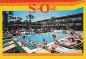 MYRTLE BEACH , South Carolina , PU-1982; Sea Oats Motel, Swimming Pool
