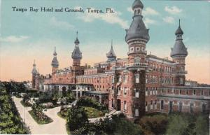 Florida Tampa The Tampa Bay Hotel and Grounds