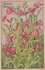 Hartslijk Gefeliciteerd, Bloemen Van Veld en Bosch, Dagkoeksbloem, 10-20s