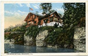 The Swiss Cottage - Rockford IL, Illinois - pm 1917 - WB