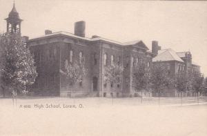 LORAIN, Ohio , Pre-1907 ; High School
