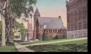 Vermont Burlington Looking North Along College Row University of Vermont  Alb...