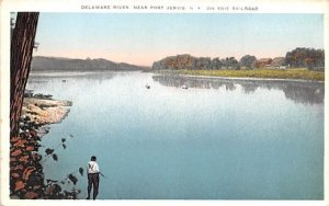 Delaware River in Port Jervis, New York