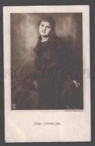 106630 Ossi OSWALDA Great MOVIE Actress Vintage PHOTO BINDER