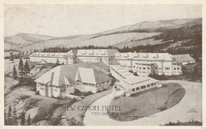 YELLOWSTONE PARK, Wyoming, 1911 ; New Canon Hotel