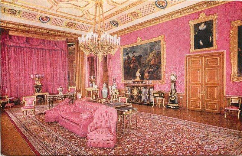 London England Ruben S Room The State Apartments Windsor Castle Set D Tuck