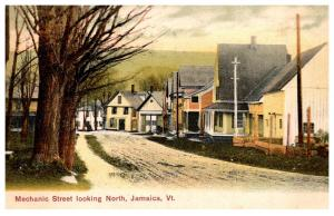 Vermont  Jamaica , Mechanic street looking North