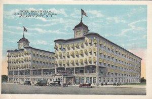 ATLANTIC CITY, New Jersey, 1910-1930s; Hotel Monticello