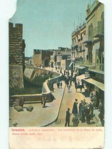 Pre-1907 NICE VIEW Jerusalem Israel i5230