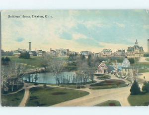 Divided-Back BUILDING Dayton Ohio OH ho2874