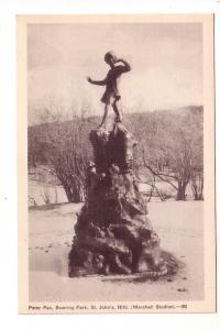 Peter Pan Statue, Bowring Park, St. John's Newfoundland, Marshall Studios