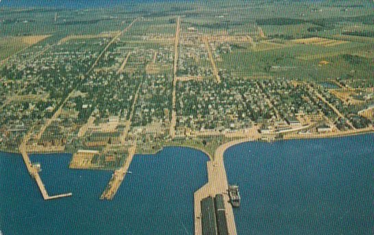 Canada Aerial View Of Summerside Prince Edward Island