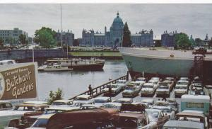 Inner Harbour,  B.C.'s Stately Parliament Buildings in the background, Victor...