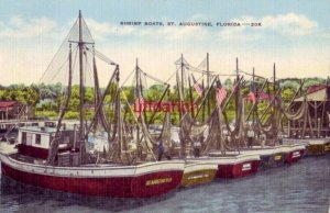 SHRIMP BOATS, ST. AUGUSTINE, FL 1964 125 documented vessels in the fleet