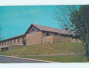Unused Pre-1980 LODGE SCENE Nashville Indiana IN J6975