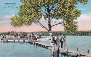 Minnesota Bemidji Boat Landing Lake Itasca