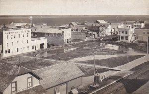 RP: DUNDURN , Saskatchewan , Canada , 1908 ; Bird's Eye View
