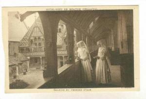 Galerie Du Premier Etage, Hotel-Dieu De Beaune (Côte-d'Or), France, 1900-1910s