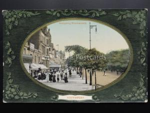 Lancashire: Southport Shopping Promenade c1909 by Valentine's No 61899