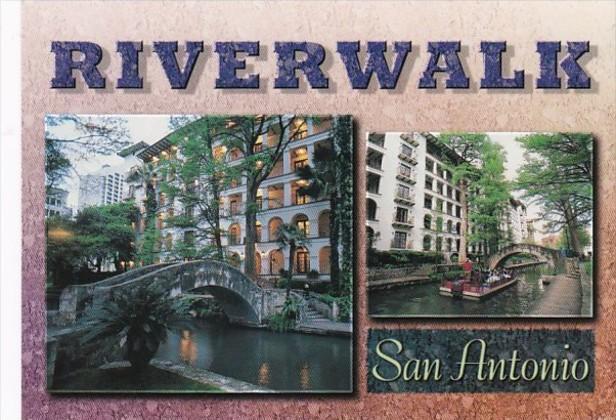 Texas San Antonio Riverside Walk