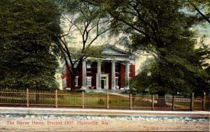Alabama Huntsville The Bierne Home 1909