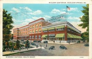 Excelsior Springs Missouri~c1901 McCleary Sanitarium~1920s Postcard
