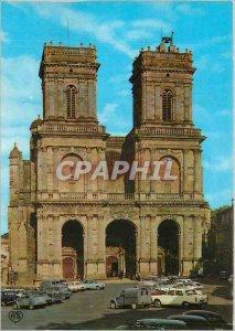 Modern Postcard Auch (Gers) Basilique Ste Marie