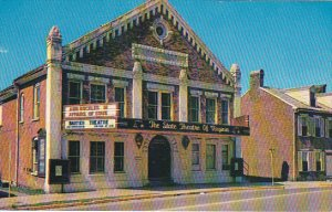 Barter Theatre Abingdon Virginia