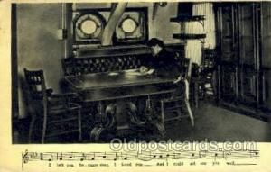 Music, Musical Instrument Post Card Postcards