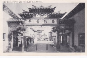 California Los Angeles New Chinatown Entrance