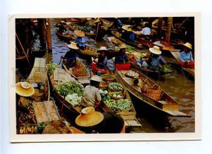 196741 Thailand Floating Market Damnonsaduol Rajburi