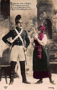 Carmen L'Amour est enfant de Boheme Postcard