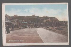 105323 UK Marine Parade Dover Vintage photo PC